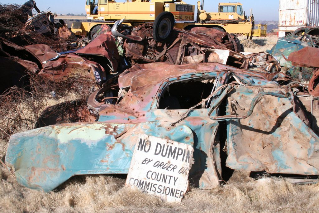 decades of dumping cleaned up on the north rim of the Snake River, Jerome County